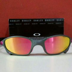 fd64bc7266805 óculos de sol oakley juliet xmetal polarizado rosa novo na caixa