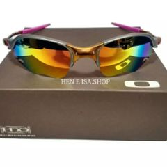 095707fe933e5 óculos de sol oakley romeo 2 24k lente flame arco íris novo na caixa