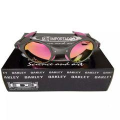 6f82b2200 frete grátis. óculos de sol oakley medusa mars xmetal rosa polarizada novo  na caixa