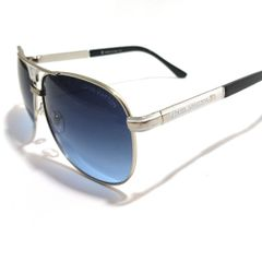 fa47ceb2b óculos de sol louis vuitton aviator azul degradê lv 9017 55