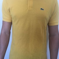d1bedf2cc7e Polo Lacoste Amarelo - Encontre mais belezas mil no site  enjoei.com ...
