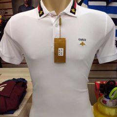 68bcf5d9cb962 camisa polo gucci algodão com elastano tam.p