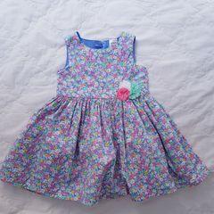 4221ec5f0e carter s vestido floral com forro