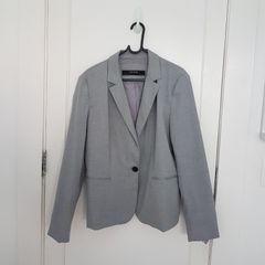 da0c013c00 blazer zara fem cinza 44