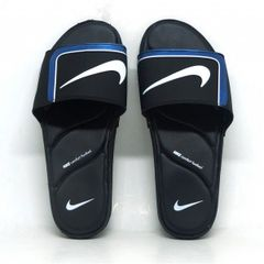 ee0a7e6629c chinelo nike kawa slide preto e azul - consultar tamanhos