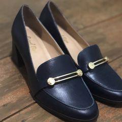 f05f10264 Sapato Vintage Azul Marinho   Comprar Sapato Vintage Azul Marinho ...