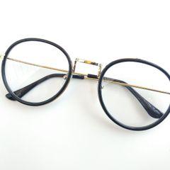 6c4ab0aee Oculos Redondo Retro Preto   Comprar Oculos Redondo Retro Preto   Enjoei