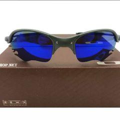 6bc58c370 frete grátis. óculos oakley romeo 2 xmetal lente flame azul armação cinza  unissex novo