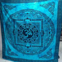 5ff89e3c584d mantas colchas de mandala, chakra, om