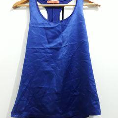 a620b32d4a blusa azul de cetim na frente