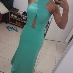 9a4ed8c3d Vestido Em Tule Verde | Comprar Vestido Em Tule Verde | Enjoei