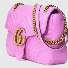 fbad49f2e Bolsa Rosa Com Dourado | Comprar Bolsa Rosa Com Dourado | Enjoei