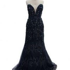 234121166 Vestido Longo De Festa Sereia Azul | Comprar Vestido Longo De Festa ...