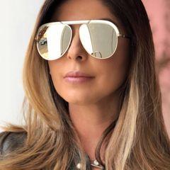 48bf73a43 óculos dior deserto original com detalhe branco
