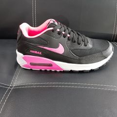 air max 90 rosa preto e branco