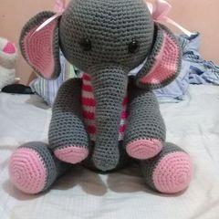 Elefante amigurumi Elephant crochet - YouTube | 240x240