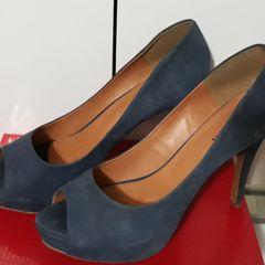 31c30e388e sapato camurça azul