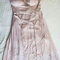 6ff8f398b0 vestido de festa longo nude com fendas nas laterais