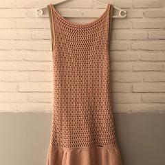 ec88ed0b26 vestido crochê rosa avanzzo