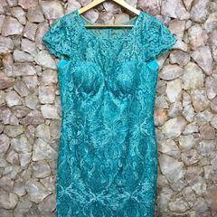 441ef909631b Vestidos De Renda Azul Claro | Comprar Vestidos De Renda Azul Claro ...
