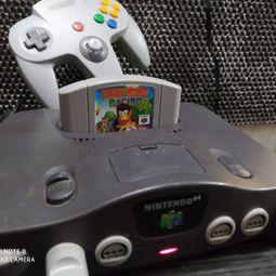 nintendo 64 1 controle original 1 jogo 42313947