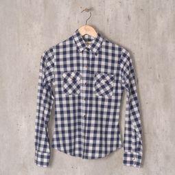 camisa xadrez tartan azul 34108519