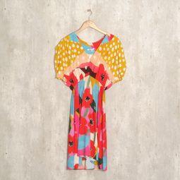 vestido mix de cores 40376942