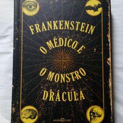 livro frankenstein o medico e o monstro dracula 38181316