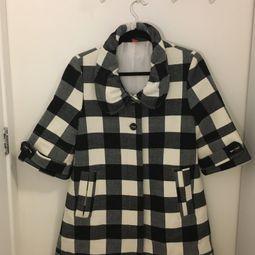 casaco xadrez farm 41803571