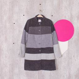 casaco color block 45541170