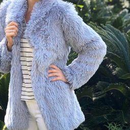 casaco de pelinhos nude 45116909