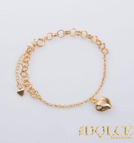 Pulseiras De Ouro Coracao - Encontre mais belezas mil no site ... f7418d30fd