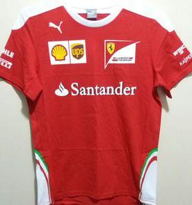 Camisa Ferrari - Encontre mais belezas mil no site  enjoei.com.br ... 1ca3d448ac9