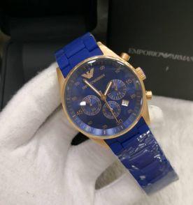 9d4fde00458 Relogio Armani Azul - Encontre mais belezas mil no site  enjoei.com ...