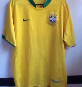 Camisa Oficial Brasil Selecao Brasileira Nike - Encontre mais ... bc419e6345bcf