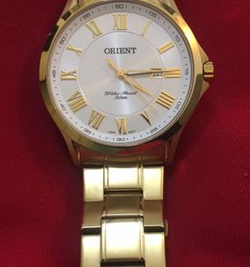 dc83b961b6e Relogio Orient Dourado - Encontre mais belezas mil no site  enjoei ...