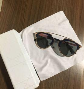 Oculos Dior So Real Azul   Óculos Feminino Dior Nunca Usado 13321475 ... a0d77e9dde