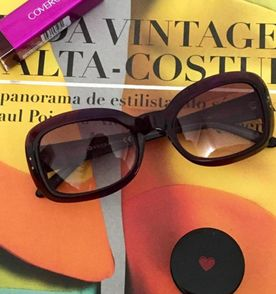 4578a50f8fa8f Oculos Vogue Roxo E Laranja - Encontre mais belezas mil no site ...