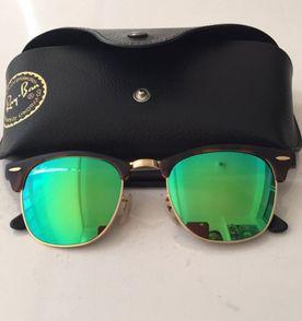 Rayban Clubmaster Tartaruga Verde Espelhado   Óculos Feminino Rayban ... 7402ae590c