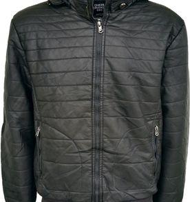 a83083ed53 jaqueta couro ecológico masculina cinza pronta entrega