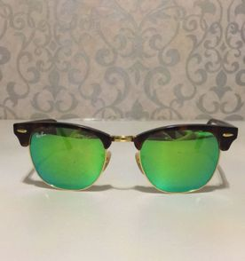 Óculos Rayban Lente Espelhada   Óculos Feminino Rayban Nunca Usado ... be398f6fb9