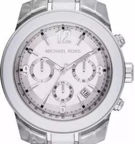 d34fed69c8882 Relogio Branco Mk - Encontre mais belezas mil no site  enjoei.com.br ...