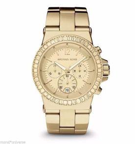 relógio mk original michael kors mk5861 dourado om caixa e manual e917 ae69d43306