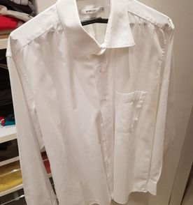 34bed06e462 camisa social manga longa branca marca borelli
