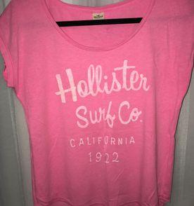 1cd9d2e20c Hollister Camiseta Feminina 2019 Nova ou Usada