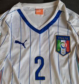 f7eb011fc1 camisa oficial da puma da seleção da itália - jogador com patches - copa  2014