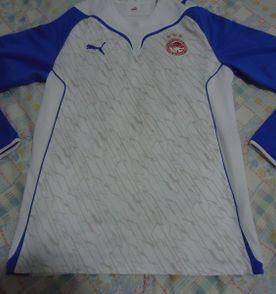 65042b40eb3f3 puma - camisa do olympiakos goleiro - tam large - usada - original -  importada