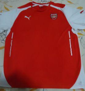334af22d2d89f puma - camisa do arsenal - tam xl - semi nova - original - sem patrocinio