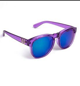 Óculos Prateado com Lente Azul Espelhado   Óculos Feminino Dassiz ... 2e4be96709