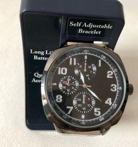 c3d9914d5bd Relógio Masculino Fases da Lua Quadrado